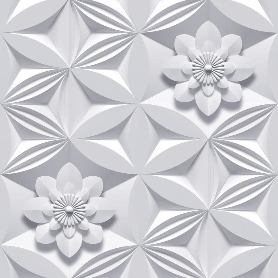 Graham & Brown Marcel Wanders Grey Paper Floral Wallpaper