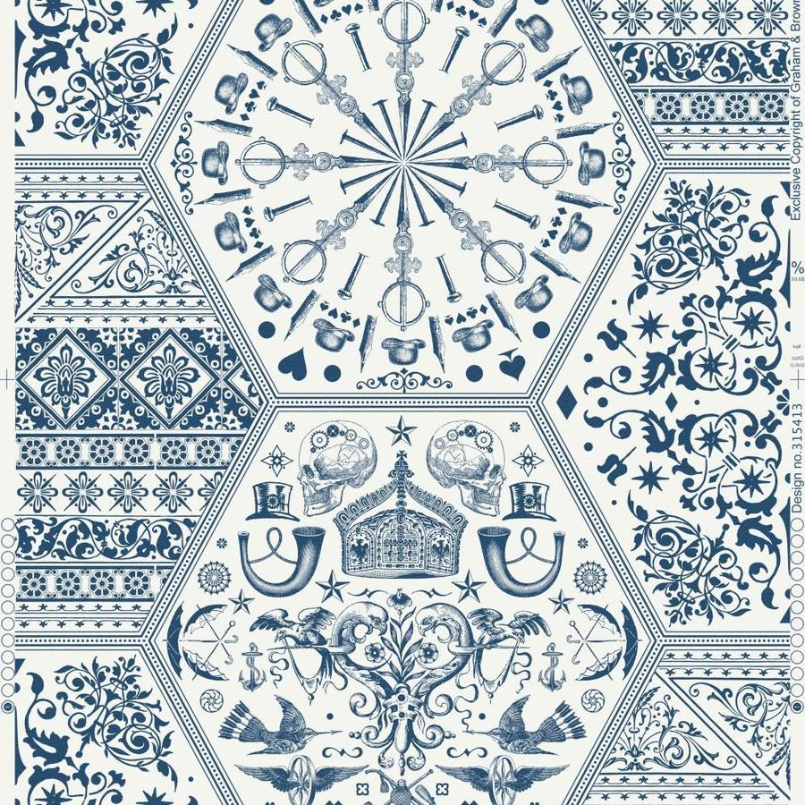 Graham & Brown White Paper Wallpaper