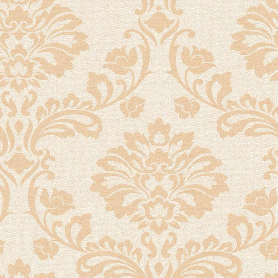 Graham & Brown Gold Paper Damask Wallpaper