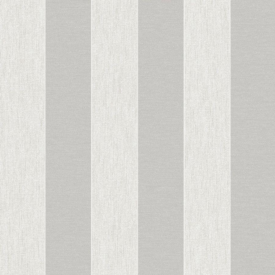 Graham & Brown White Paper Stripes Wallpaper