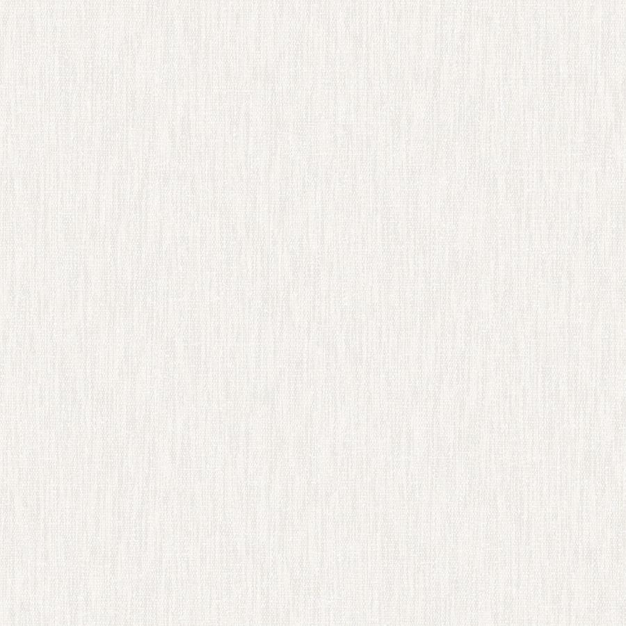 Graham & Brown Midas White Vinyl Textured Solid Wallpaper