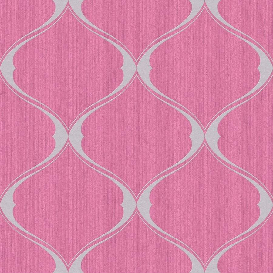 Graham & Brown Pink Paper Geometric Wallpaper