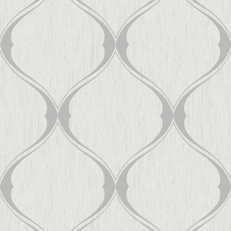 Shop graham brown midas grey vinyl textured geometric for Gray vinyl wallpaper