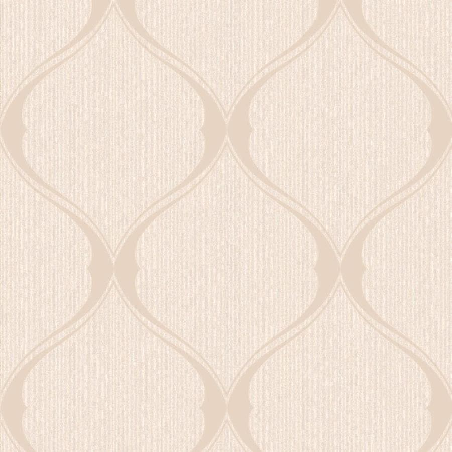 Graham & Brown Midas Gold Vinyl Textured Geometric Wallpaper