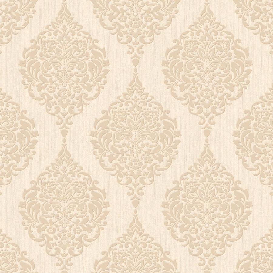 Graham & Brown Gold Paper Damask Wallpaper