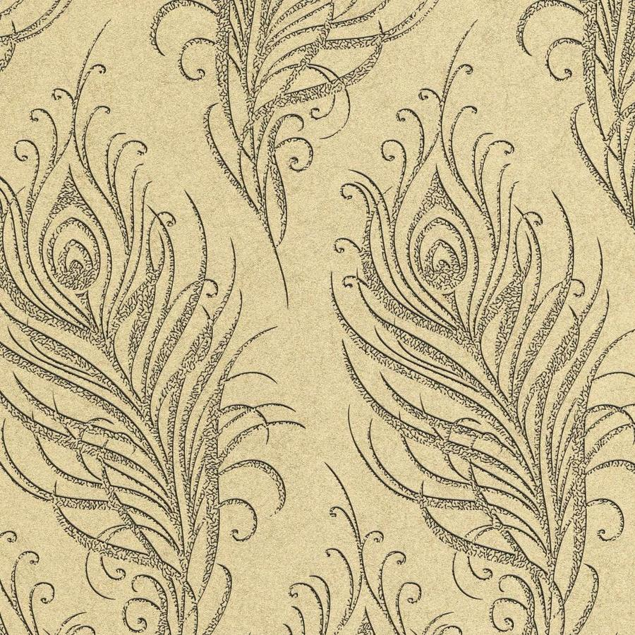 Graham & Brown Artisan Gold Paper Textured Abstract Wallpaper