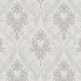 graham u0026 brown palais vinyl textured damask wallpaper