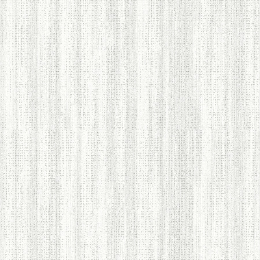 Shop graham brown eclectic white vinyl paintable for Solid vinyl wallcovering