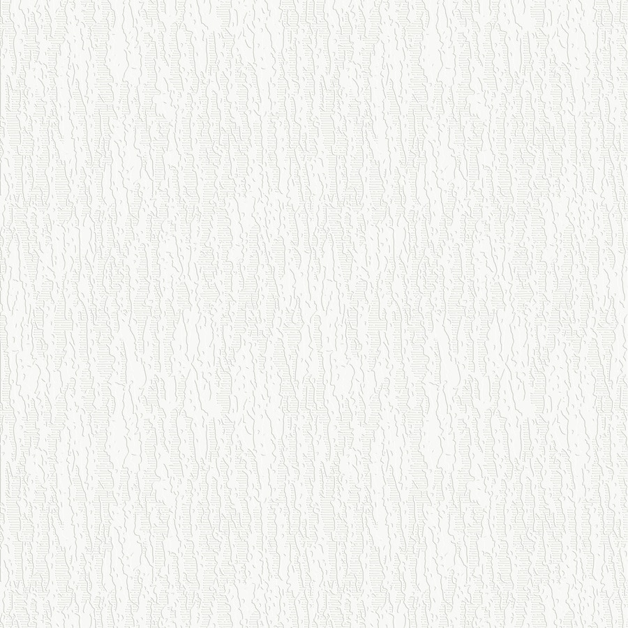 Graham & Brown Eclectic White Vinyl Paintable Textured Solid Wallpaper