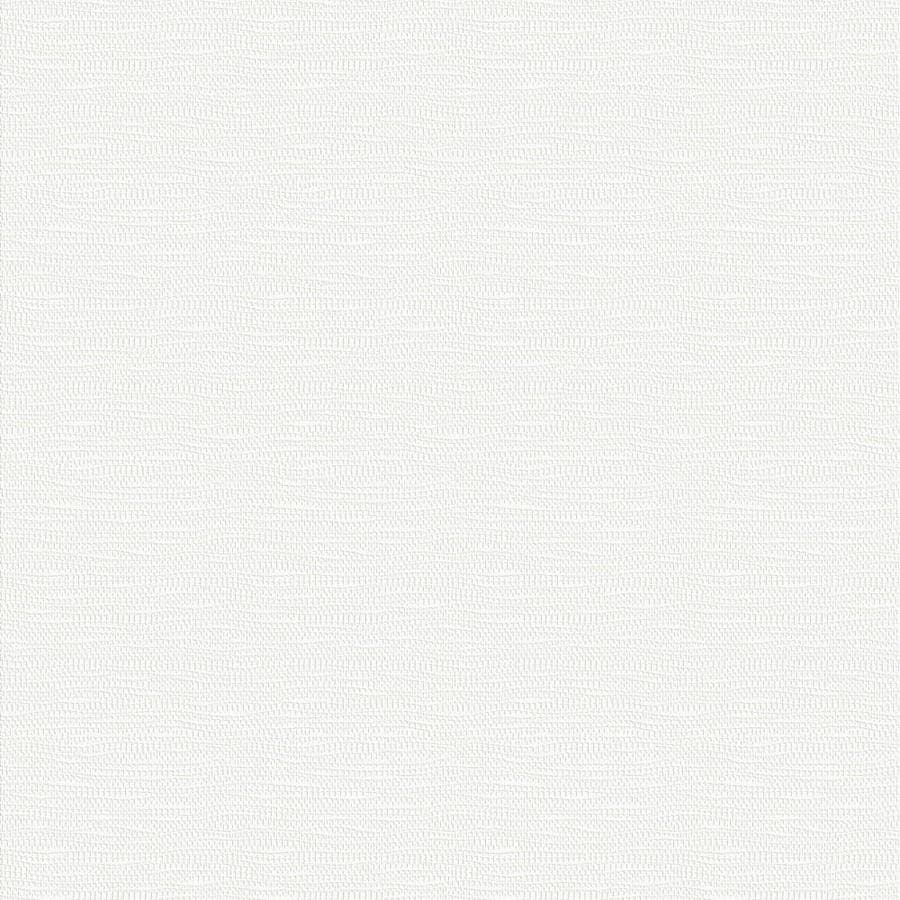 Shop graham brown eclectic 56 sq ft white vinyl for Paintable grasscloth wallpaper