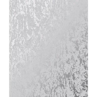 Graham Brown Milan 56 Sq Ft Grey Silver Vinyl Textured