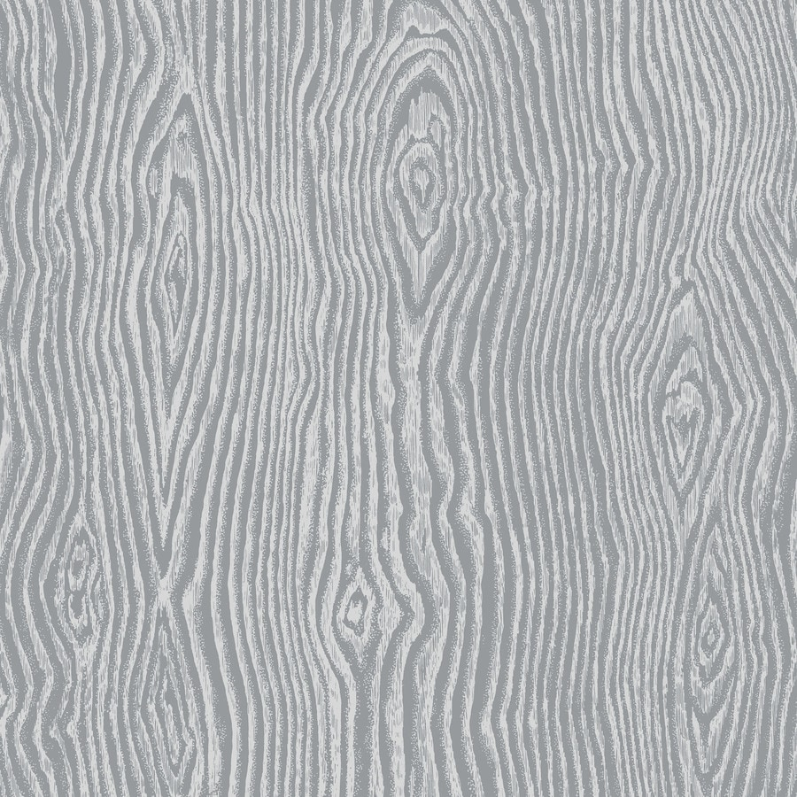 Graham & Brown Gray and Silver Paper Wallpaper