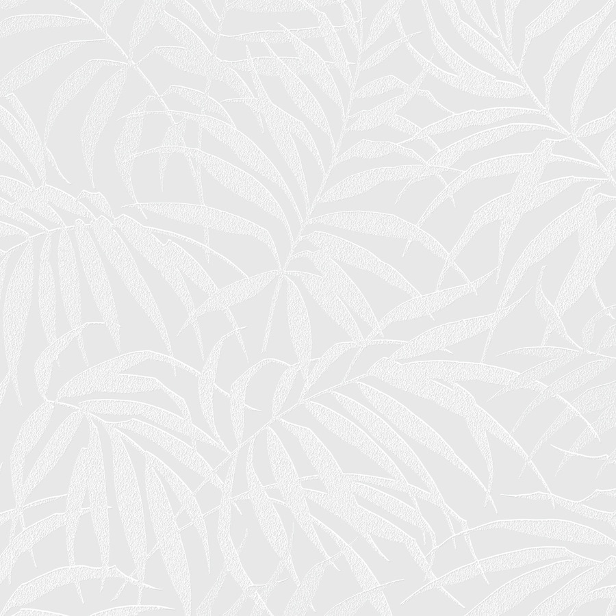 Graham & Brown White and Pearl Paper Floral Wallpaper