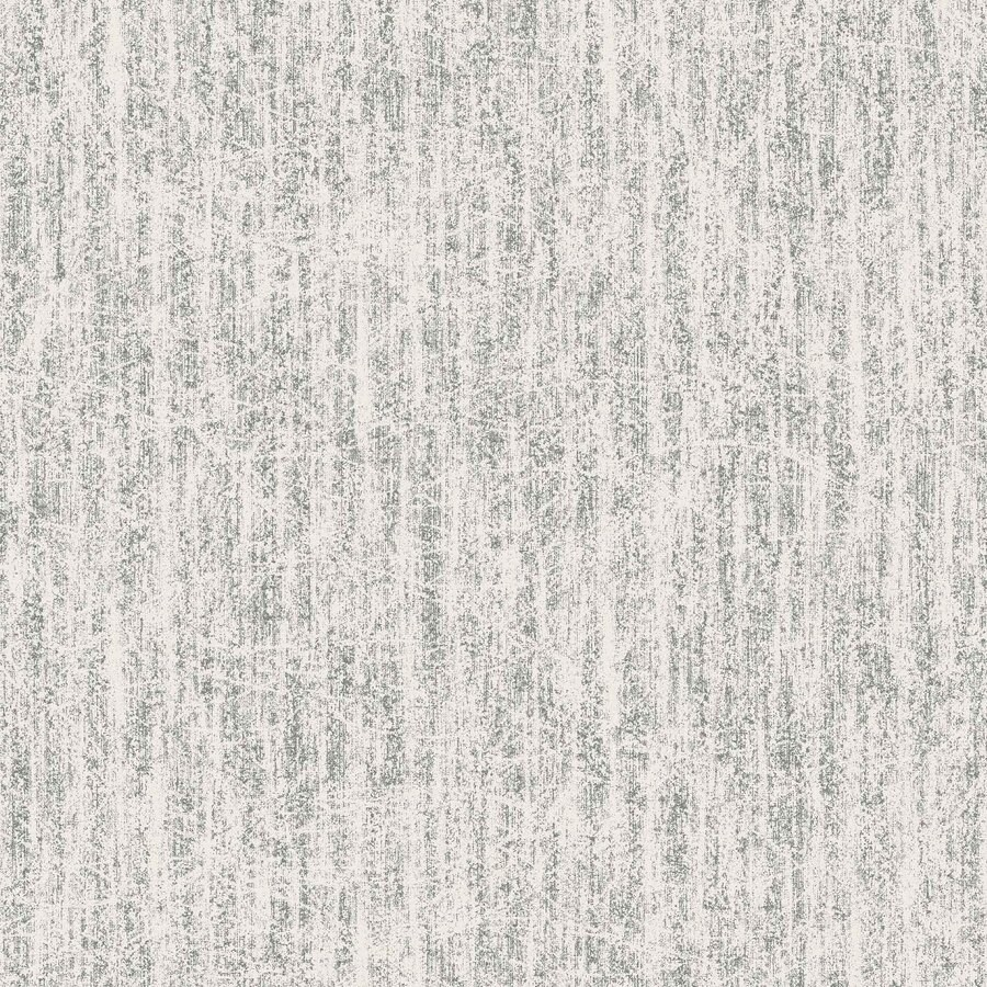 Graham & Brown White and Silver Vinyl Abstract Wallpaper