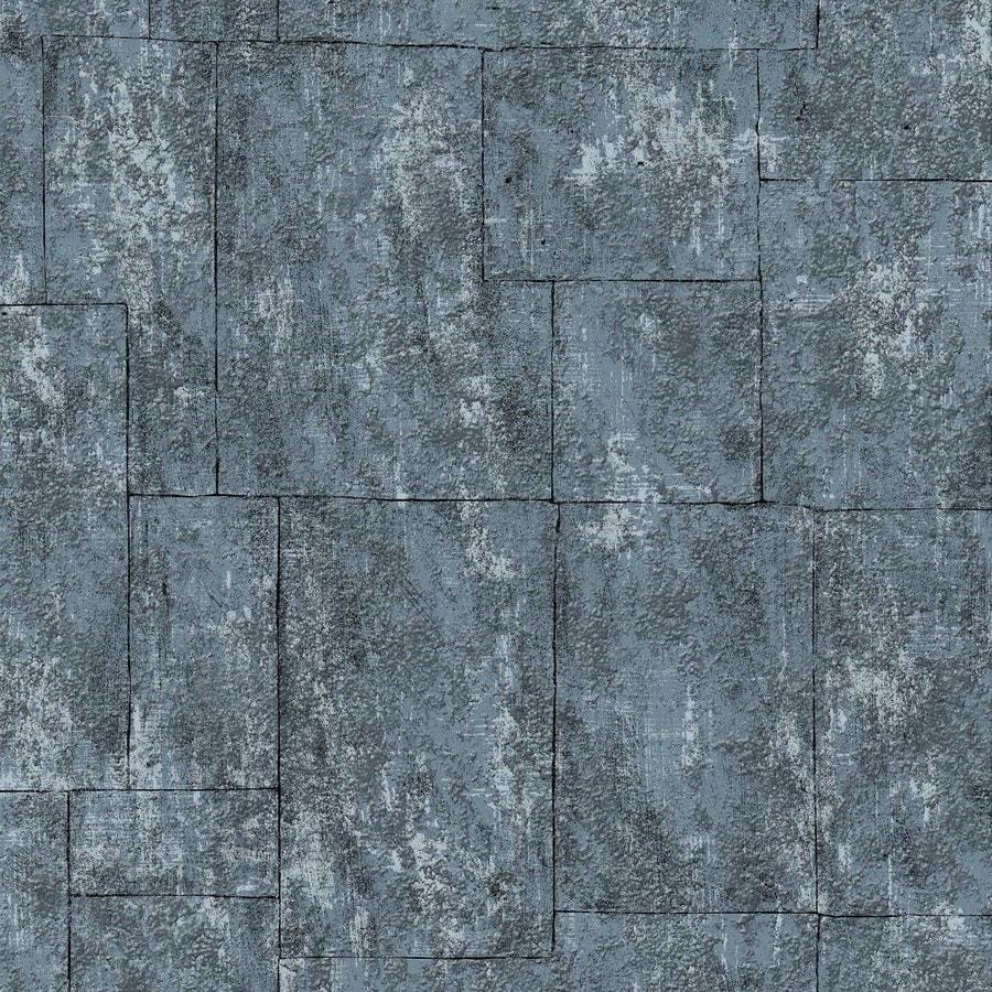 Graham & Brown Surface Midnight Vinyl Textured Stone Wallpaper