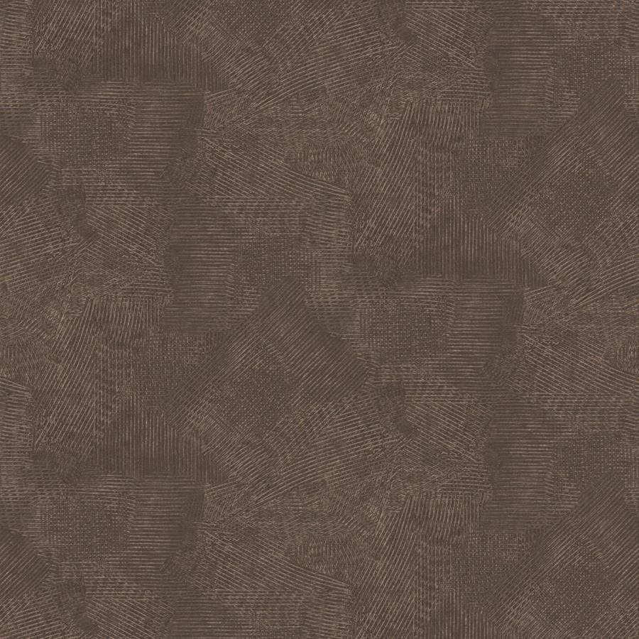 Graham Brown Surface 56 Sq Ft Chocolate And Copper Vinyl Textured Abstract Wallpaper