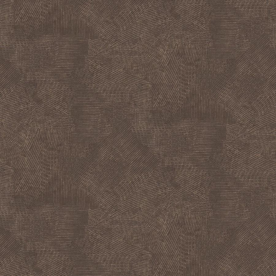 Graham & Brown Surface Chocolate and Copper Vinyl Textured Abstract Wallpaper