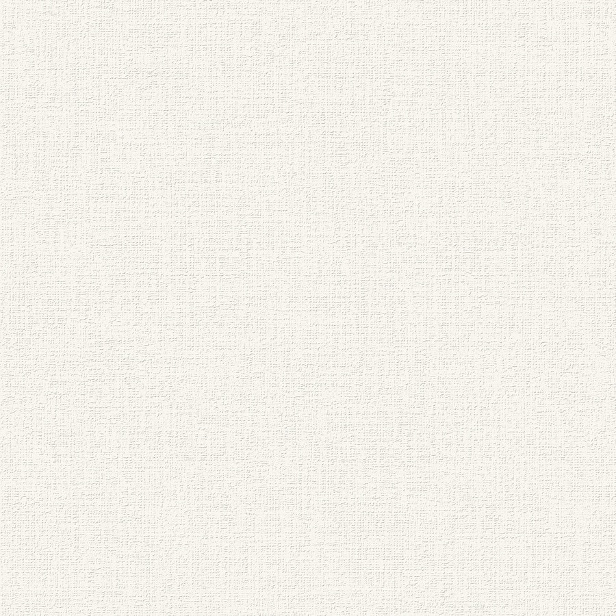Graham & Brown Surface White Vinyl Textured Solid Wallpaper