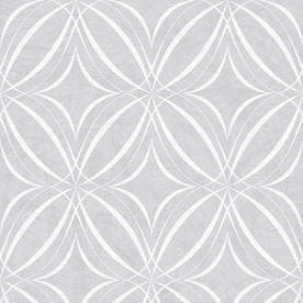 Superbe Graham U0026 Brown Empress 56 Sq Ft Gray/White Vinyl Textured Geometric  Wallpaper