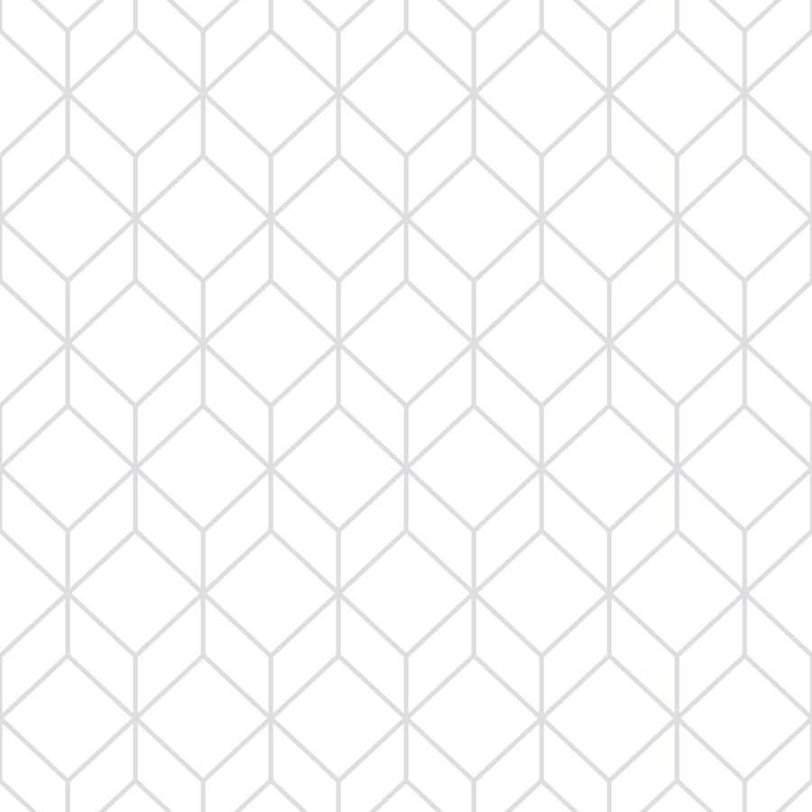 graham brown empress 56 sq ft white silver vinyl. Black Bedroom Furniture Sets. Home Design Ideas
