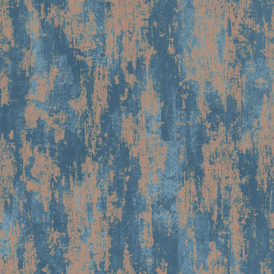 Graham Amp Brown Vermeil 56 Sq Ft Blue Copper Paper Abstract