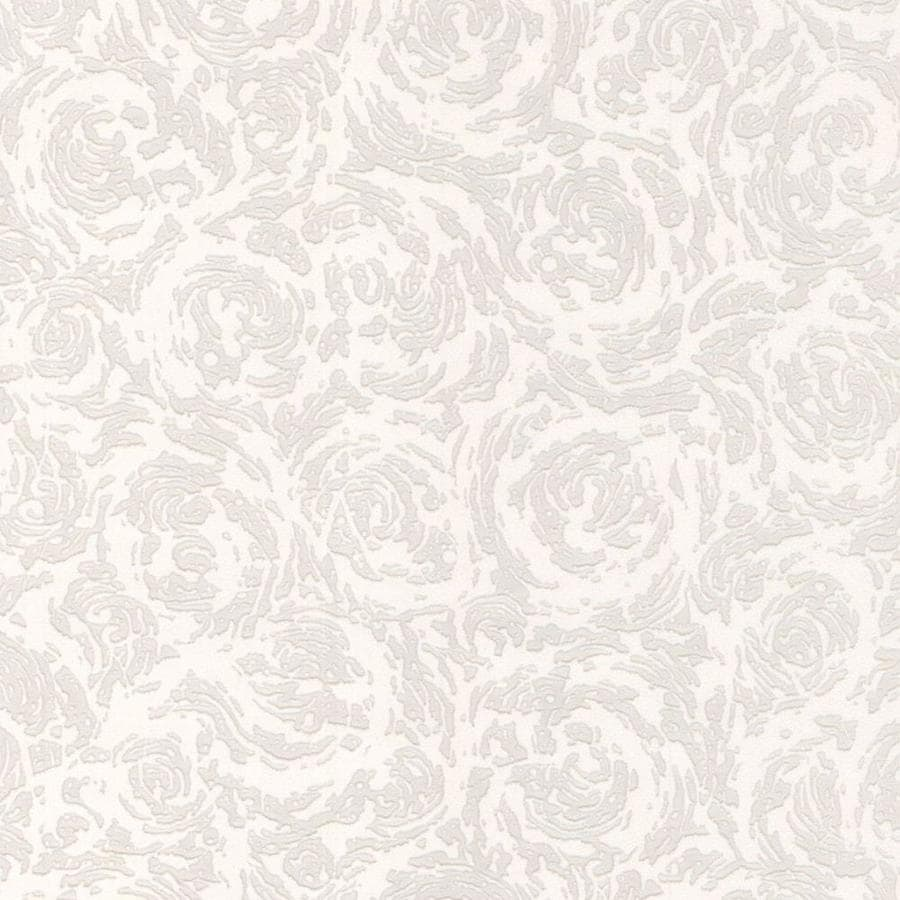 Superfresco Paintable Eclectic White Vinyl Paintable Textured Abstract Wallpaper