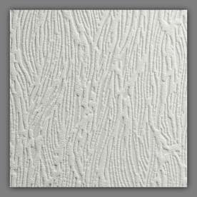 Graham & Brown Eclectic 56-sq ft White Vinyl Paintable Textured Wood Wallpaper