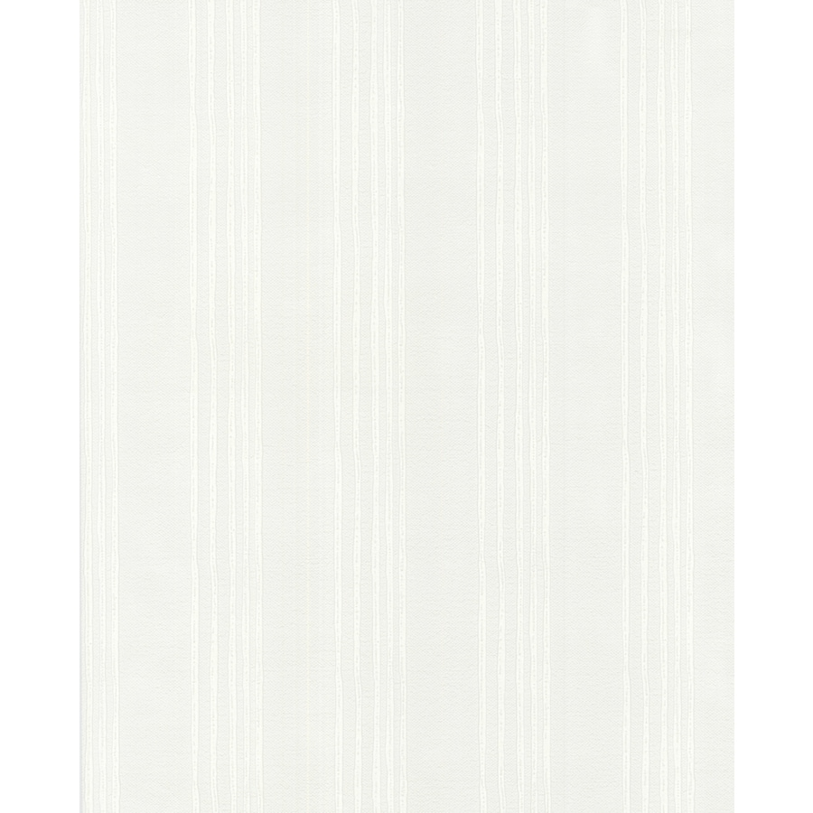 Superfresco Paintable Eclectic White Vinyl Paintable Textured Stripes Wallpaper