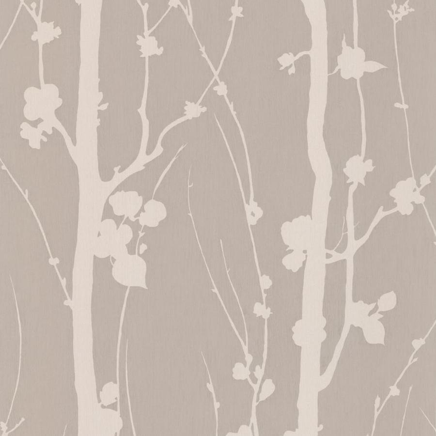 Graham & Brown Classics 56-sq ft Mocha/Beige Vinyl Textured Floral  Wallpaper