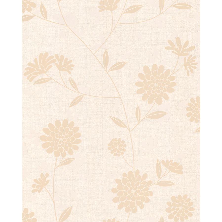 Superfresco Neutral Vinyl Floral Wallpaper