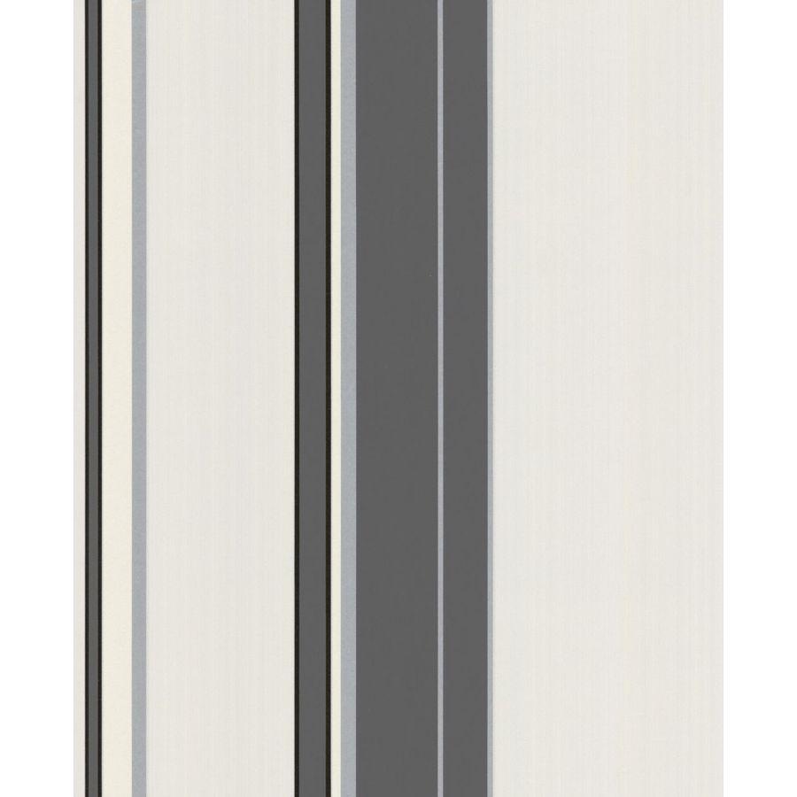 Superfresco Easy Majestic Grey Vinyl Textured Stripes Wallpaper