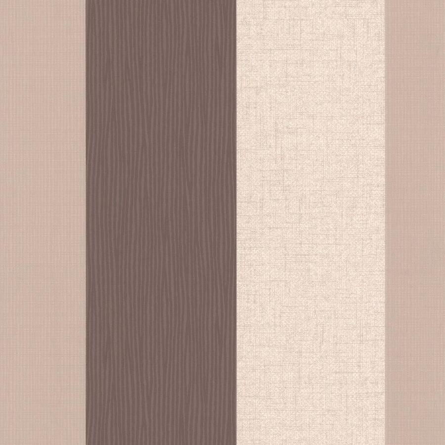 Superfresco Chocolate Vinyl Stripes Wallpaper