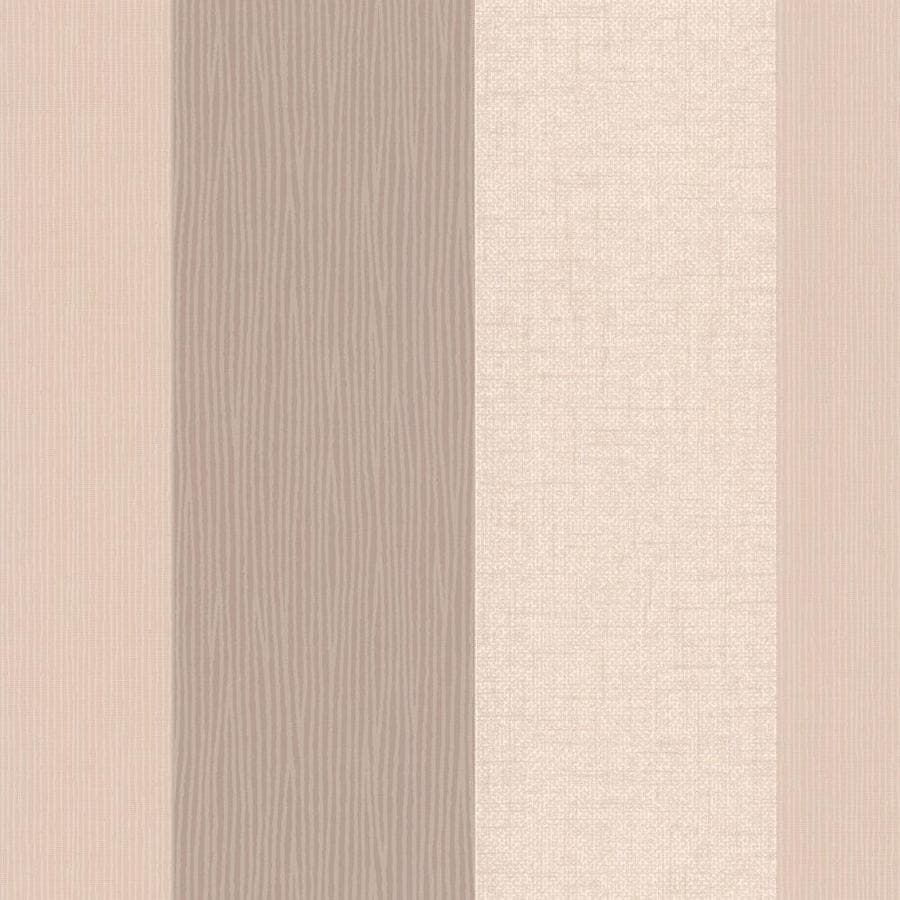 Graham & Brown Classics Beige Vinyl Textured Stripes Wallpaper