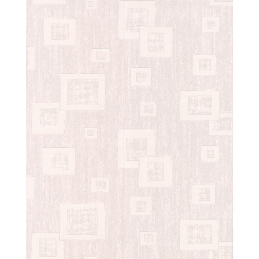 Superfresco Paintable Eclectic White Vinyl Paintable Textured Geometric Wallpaper