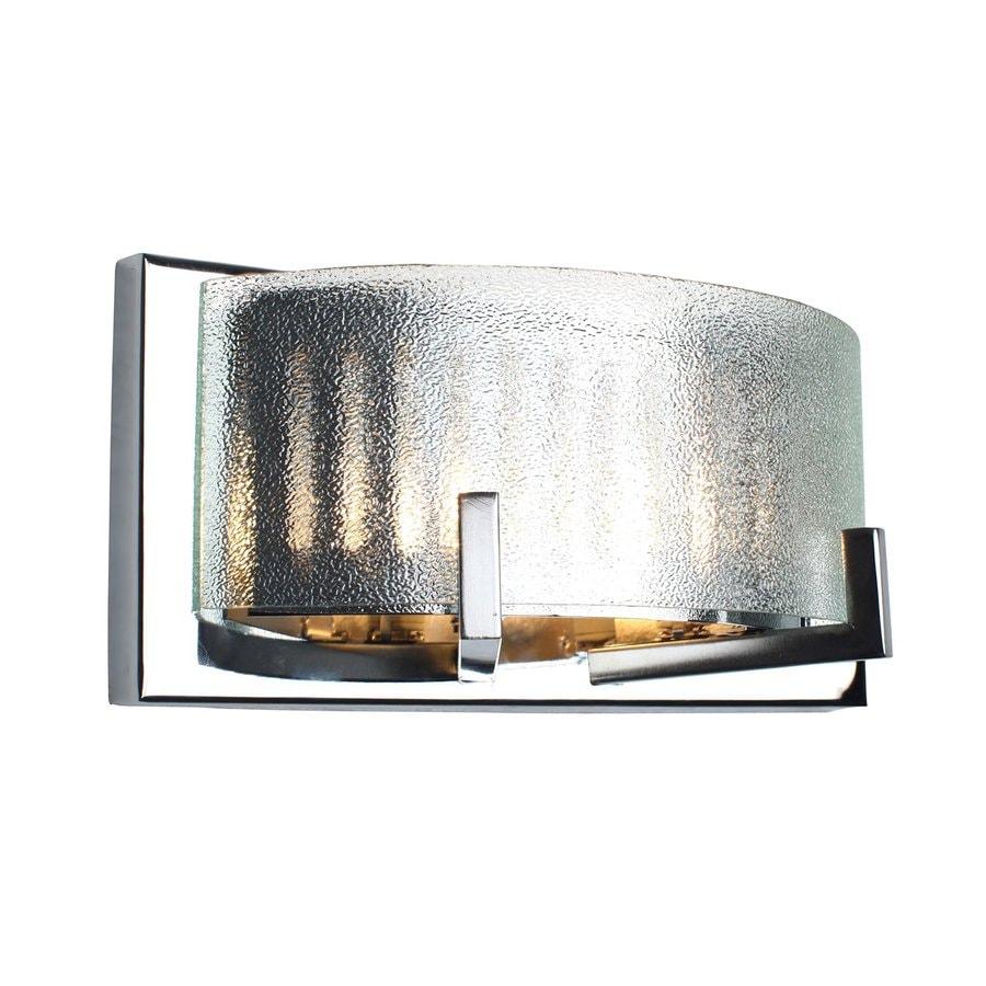 Alternating Current Firefly 1-Light 5-in Chrome Drum Vanity Light