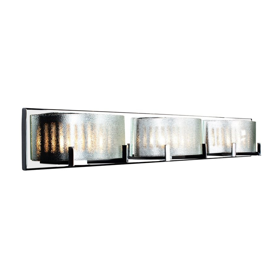 Alternating Current Firefly 3-Light 5-in Chrome Drum Vanity Light