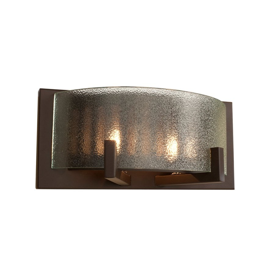 Alternating Current Firefly 1-Light Warm Bronze Drum Vanity Light