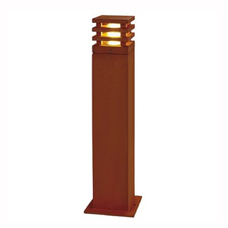 SLV Lighting 27.9-in Steel In-Ground CFL Bollard