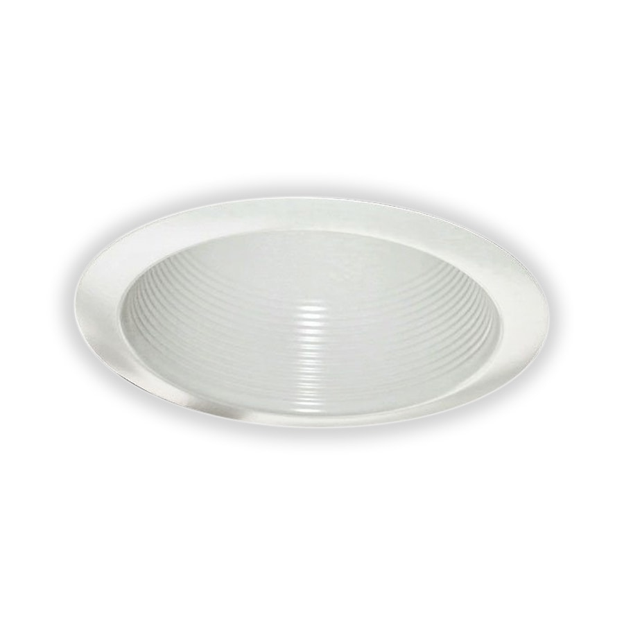 Royal Pacific White Baffle Recessed Light Trim (Fits Housing Diameter: 6-in)