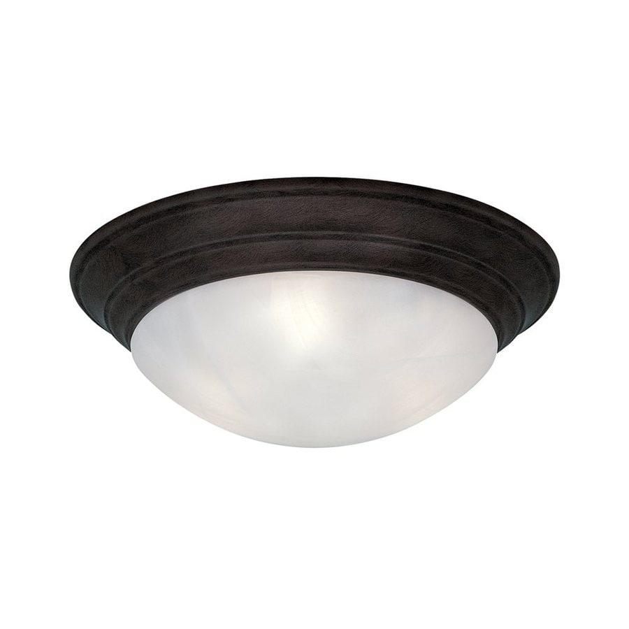 Designer's Fountain Lunar 16.75-in W Oil Rubbed Bronze Flush Mount Light