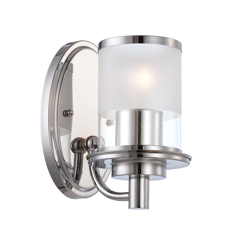 Designer's Fountain Essence 5.25-in W 1-Light Chrome Arm   Wall Sconce