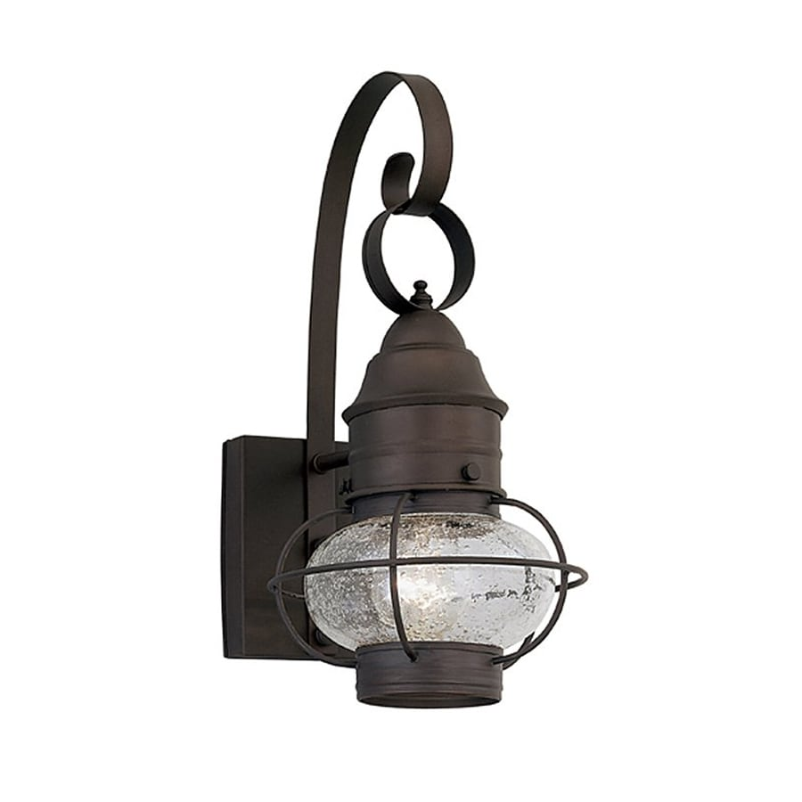 Designer's Fountain Nantucket 17.5-in H Rustique  Medium Base (E-26) Outdoor Wall Light