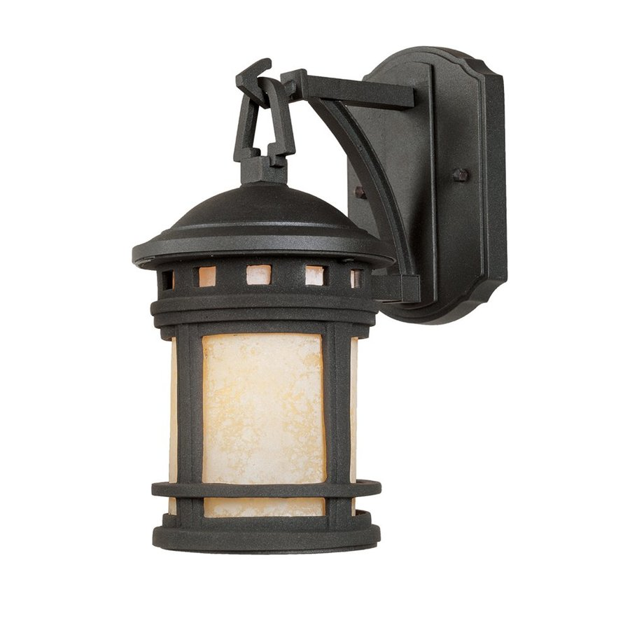 Designer's Fountain Sedona 11.25-in H Oil Rubbed Bronze  Medium Base (E-26) Outdoor Wall Light