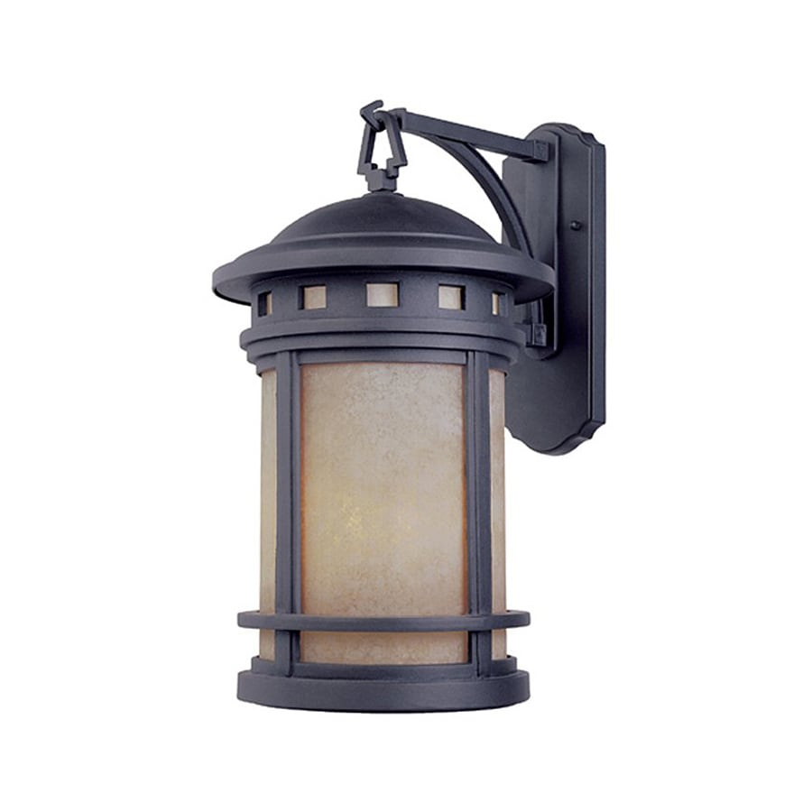 Shop Designer s Fountain Sedona 13-in H Oil Rubbed Bronze Outdoor Wall Light at Lowes.com