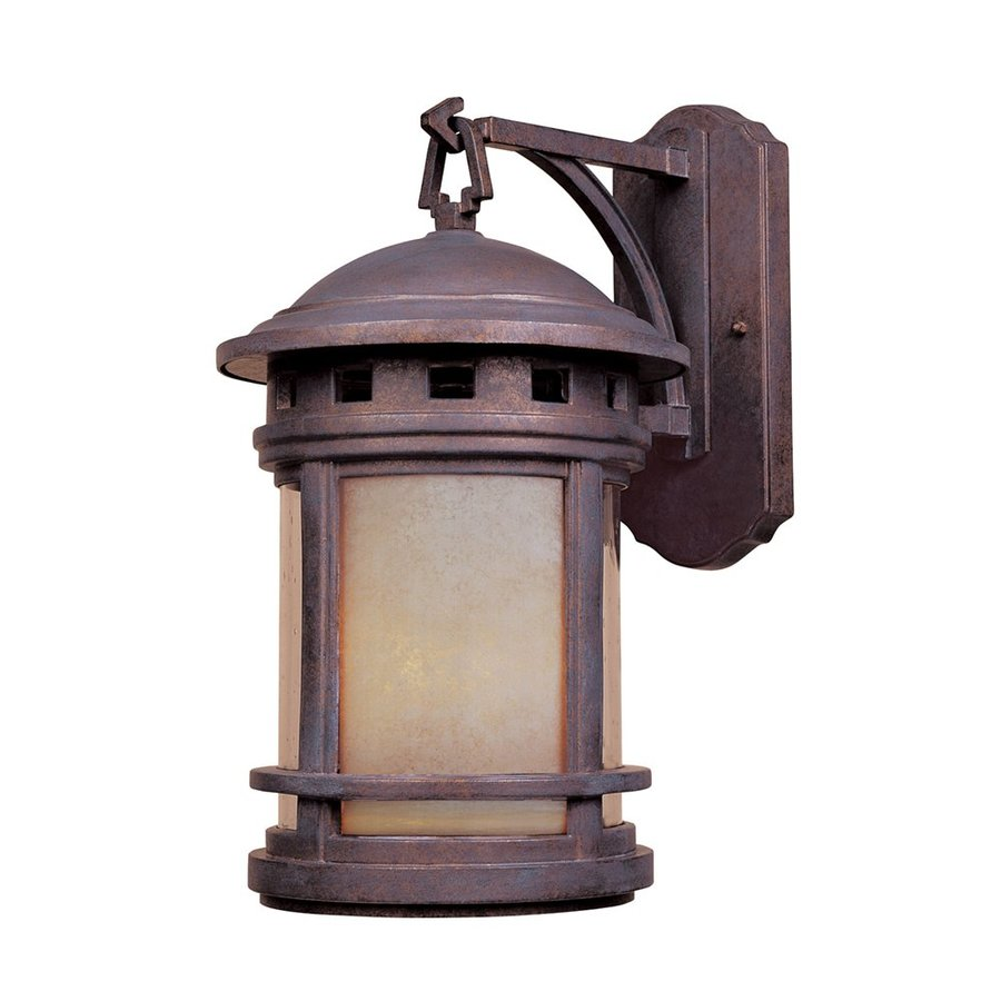 Designer's Fountain Sedona 20-in H Mediterranean Patina Outdoor Wall Light