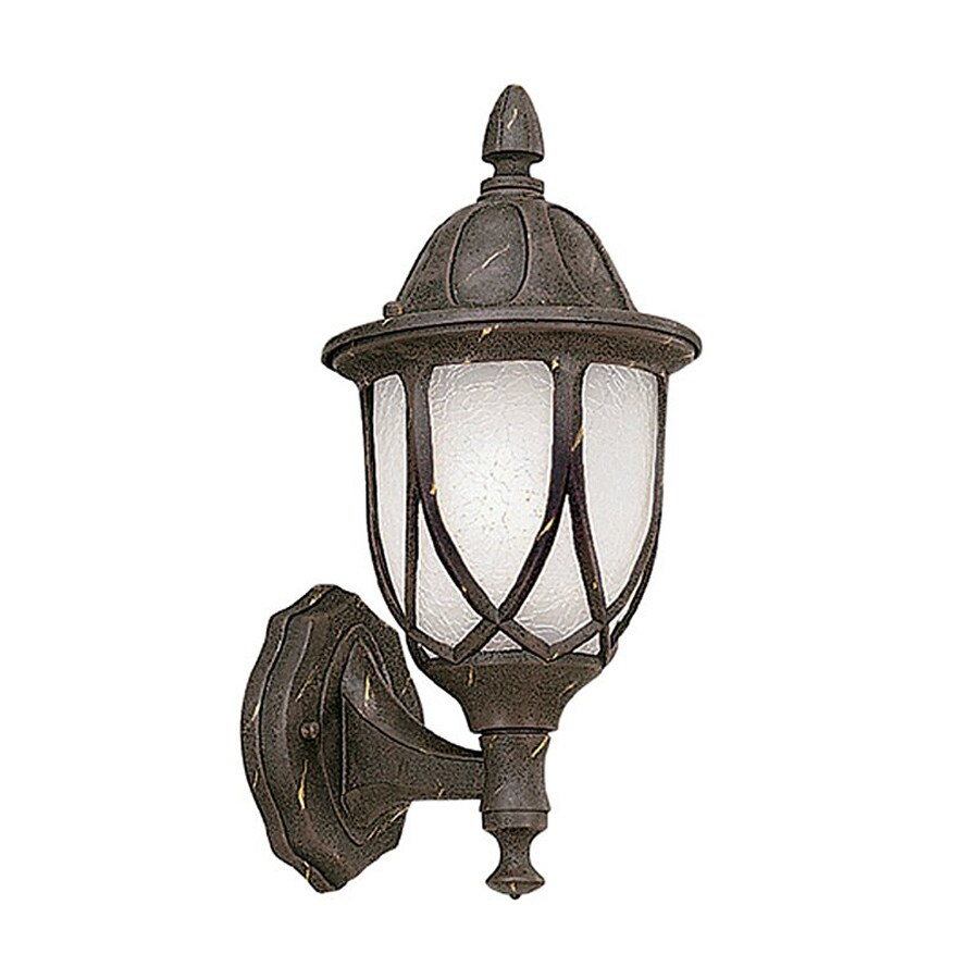 Designer's Fountain Capella 13.5-in H Autumn Gold Outdoor Wall Light