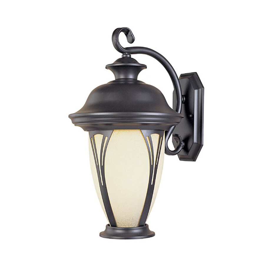 Designer's Fountain Westchester 12.75-in H Bronze  Medium Base (E-26) Outdoor Wall Light