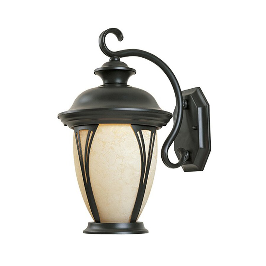 Designer's Fountain Westchester 16-in H Bronze Outdoor Wall Light