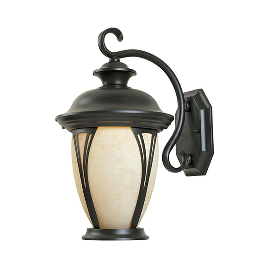 Designer's Fountain Westchester 19.5-in H Bronze Outdoor Wall Light