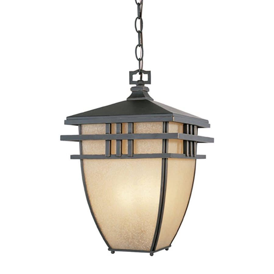 Designer's Fountain Dayton 16.25-in Aged Bronze Patina Hardwired Outdoor Pendant Light